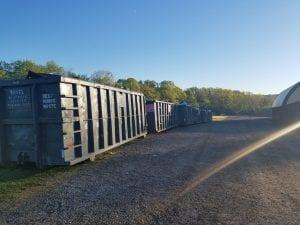 Full Dumpsters